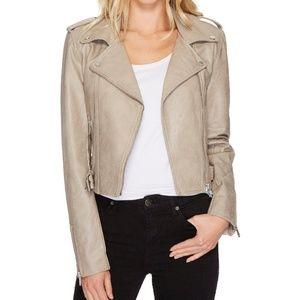 Romeo + Juliet Couture Faux Leather Moto Jacket